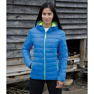 A_Jackor med tryck LADIES' SNOW BIRD HOODED JACKET